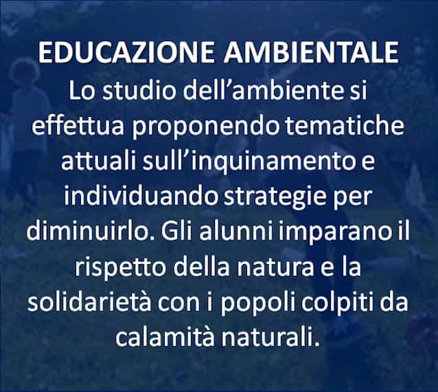 EDUCAZIONE AMBIENTALE