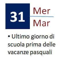 31 Marzo 2021